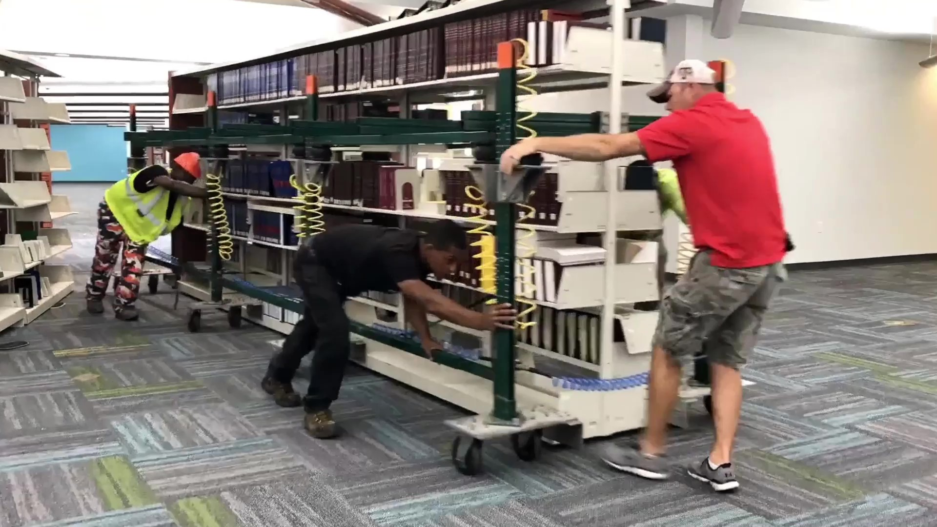FSM Library Book Moves