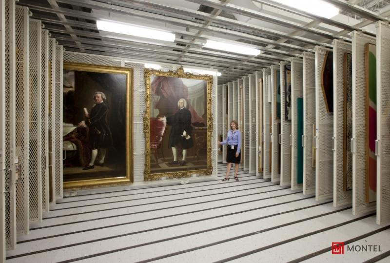 Art Storage Racks and Panels