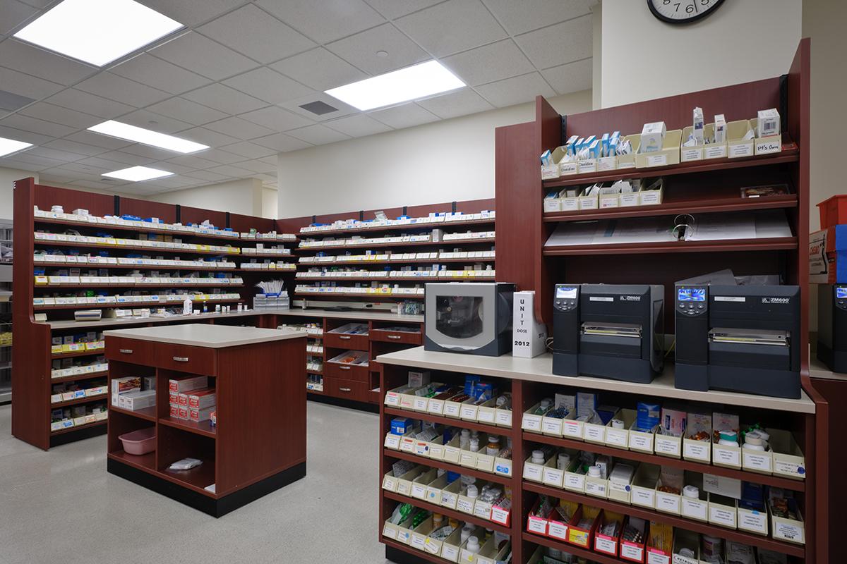 Pharmacy Storage Modular Casework