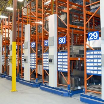 INDUSTRIAL ROLLING SHELVING SYSTEMS