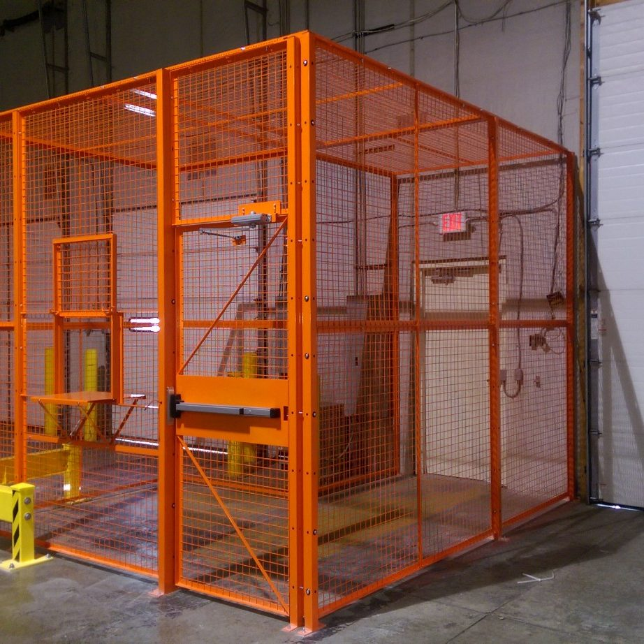 SECURITY CAGE WOVEN WIRE WELDED WIRE